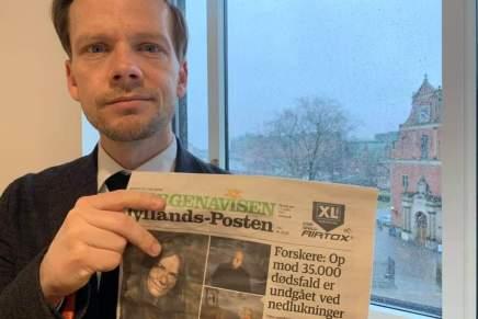 Restriktioner har sparet Danmark for 35,000dødsfald