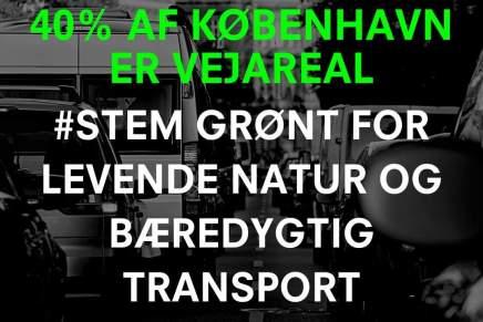 Vidste du at veje fylder hele 40% af Københavnsareal?